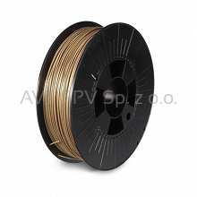 Filament PLA 1.75mm 0.75kg Metalic Gold - Glitter