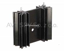 Radiator 35x12mm, długość 30mm, profil DY-CX