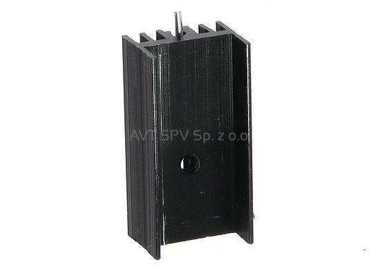 Radiator 15x11mm, długość 30mm, profil DY-CN