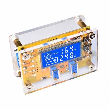 Zasilacz napięciowy prądowy ładowarka XL4015 USB z obudową