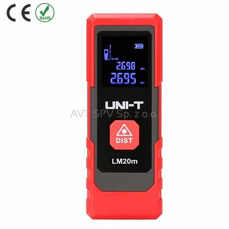 5901890056939 Miernik dystansu Uni-T LM20m uni-t