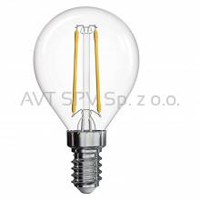 Żarówka LED Filament Mini Globe 2W E14 neutralna biel, 250lm