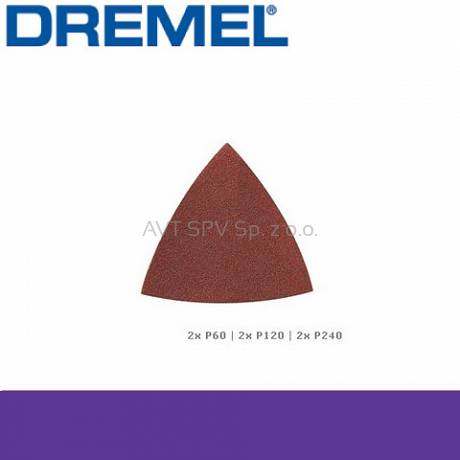 Papier ścierny do drewna (P60, P120 i P240) do DREMEL Multi-Max (MM70W)