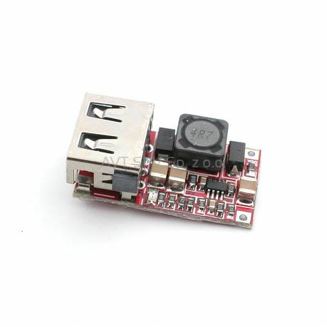 Przetwornica StepDown USB 5V, 3A z 12V-24V, OSKJ