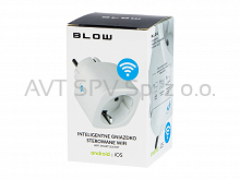 Inteligentne gniazdko sterowane WiFi, Blow, WiFi smart socket Android / iOS