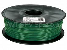 Filament PLA 1.75mm zielony (pini) 0.75kg