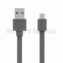 Kabel Allocacoc USBcable microUSB Flat szary