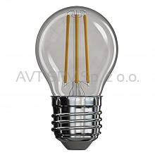 Żarówka LED Filament mini globe 4W E27 neutralna biel, 465lm