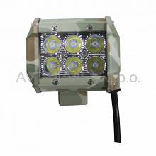 Lampa robocza, panel LED 18W 94mm spot moro LB0031SM