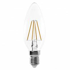 Żarówka LED Filament candle 4W E14 neutralna biel, 465lm
