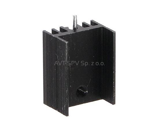 Radiator 15x11mm, długość 20mm, profil DY-CN