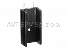 Radiator 15x10mm, długość 30mm, profil DY-CI