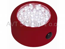 Lampa 24 LED fi 70mm z magnesem (3xAAA)