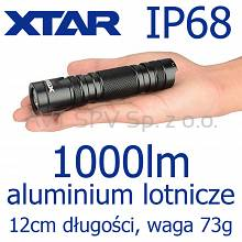 Latarka XTAR WK18 PACER 1000lm, 150m, IP68