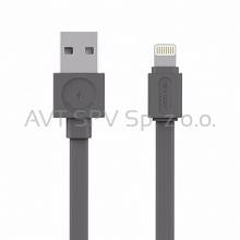 Kabel Allocacoc USBcable Apple Lightning Flat szary