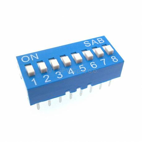 DIP-Switch 8 sekcji HQ