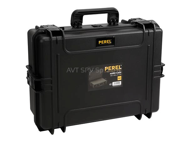 ef553bcb90cfe Profesjonalna, twarda walizka 55x42x21cm wyłożona pianką, HARD CASE BLACK  IP67