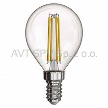 Żarówka LED Filament mini globe 4W E14 neutralna biel, 465lm