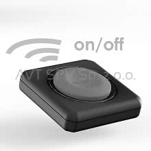 Pilot PowerRemote do PowerCube Remote, czarny