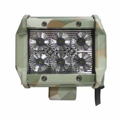 Lampa robocza, panel LED 18W 9cm LB0031FM flood moro, 6000K