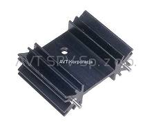 Radiator 34,9x25,4 h=12,7mm SK104 (TO220, SOT32, TO3P)