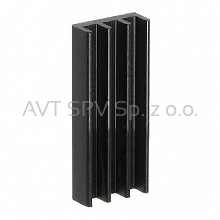 Radiator 12.5x5mm, długość 30mm, profil DY-CO
