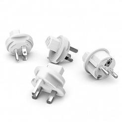 TravelPlugs - zestaw 4 wtyczek do PowerCube ReWirable i PowerUSB