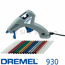 Pistolet do klejenia DREMEL Glue Gun 930 (930-18 Hobby) na sztyfty 7mm
