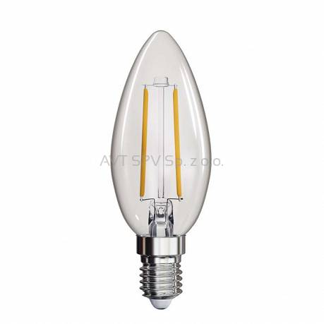Żarówka LED Filament candle 2W E14 neutralna biel, 250lm